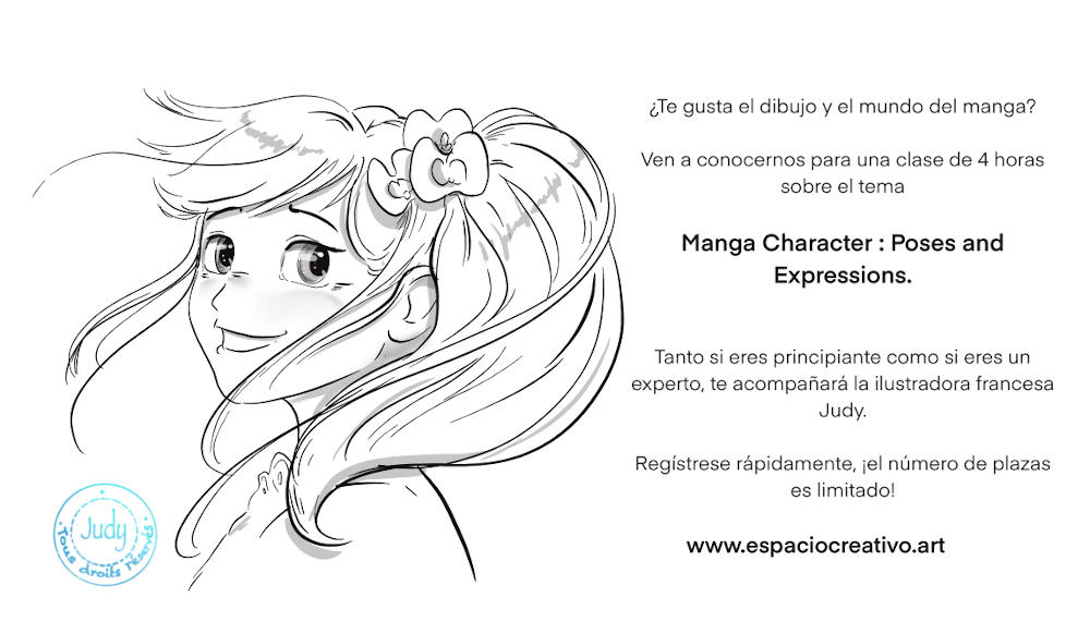 Manga Character: Poses and Expressions